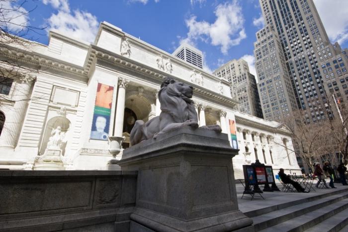 The NYPL exteriors - Credit Jonathan Blanc