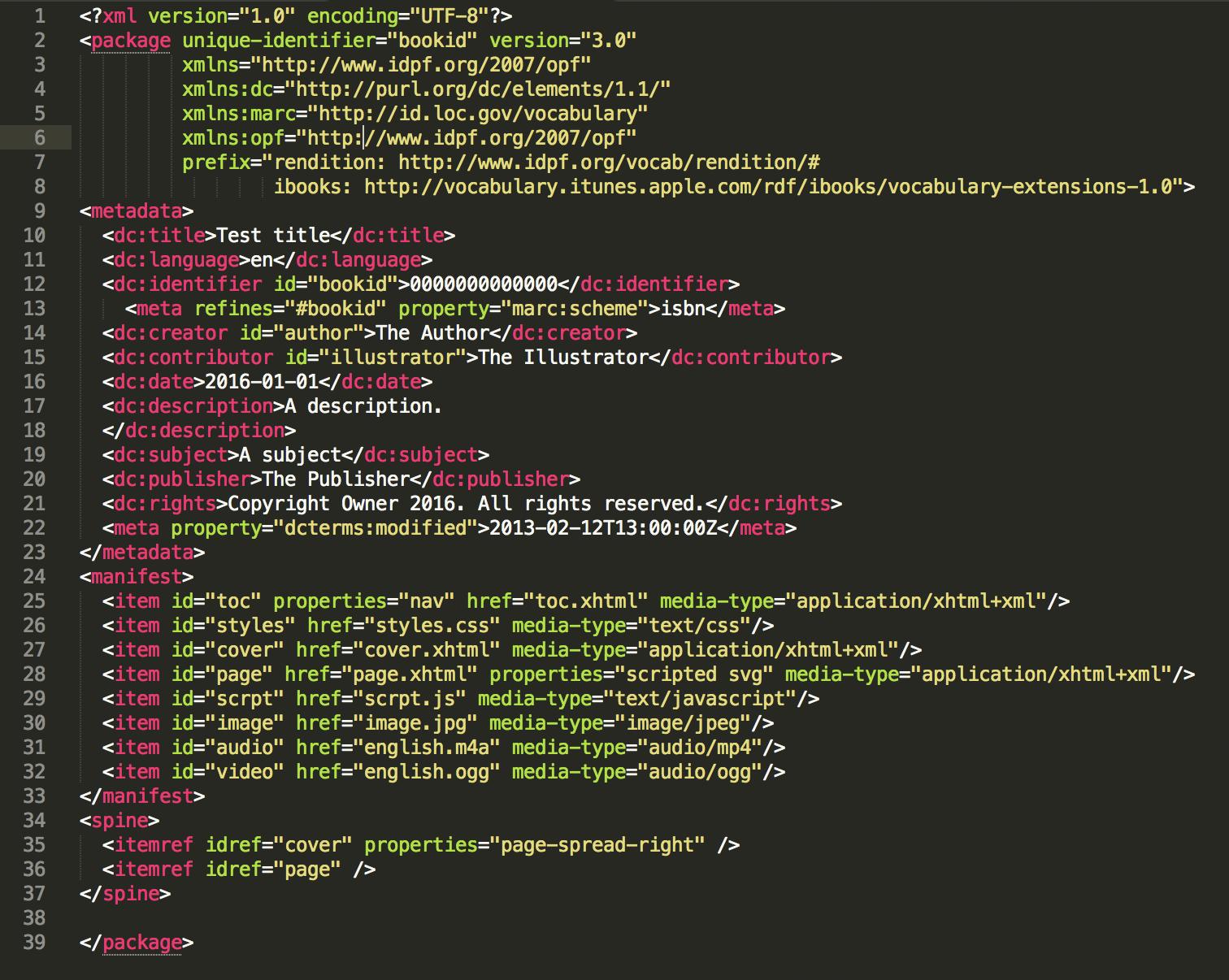Anatomy Of An Epub 3 File Edrlab