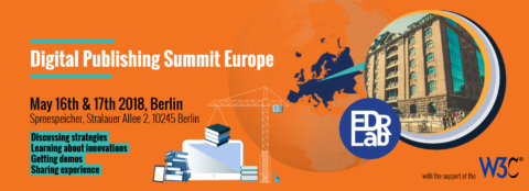 Book for the Digital Publishing Summit Europe 2018