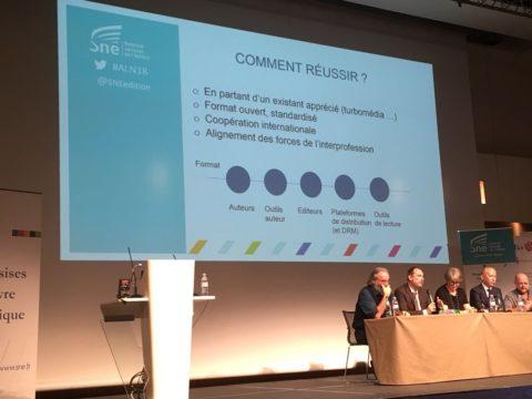 EDRLab at the Assises du Livre Numérique, 03 Dec 2018
